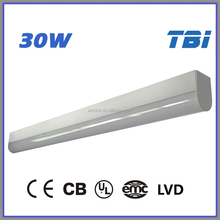 30W 3000K LED Art light CE CB UL EMC LVD Teardrop T8 Ceiling Light Fitting Cleanroom Light Fittings