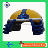 giant inflatable ruby helmet for sale football helmet inflatable helmet tunnel for football game