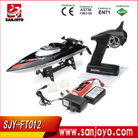 Unique Design High Speed Servos Four Channels RC Racing Ship RC Boat For Sale SJY-FT012