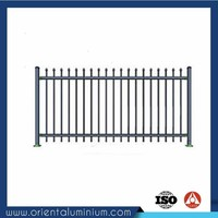 New Design for All Types of Aluminum Fence Pricing
