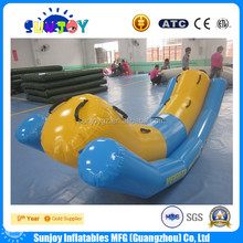 SUNJOY 2016 hot sale inflatable seesaw, seesaw indoor, playground seesaw for child and adult