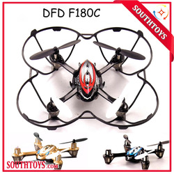 DFD F180C 360 Degree Roll Mini RC Quadcopter Drone with Camera 2.4GHz 6-Axis Gyro