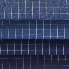 Latest Design Fabric In Market, Woven Checked Shirting Fabric