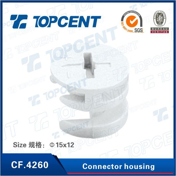 [CF.4260] Plastic cabinet connectors cam fitting furniture connector