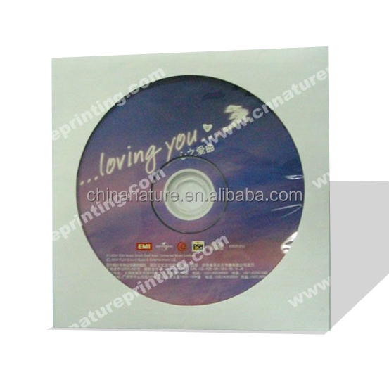 China Nature Game CD Replication with white Paper Package