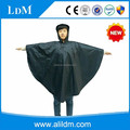 Reusable poncho rain coat with hood for adult