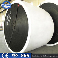 ISO/ CE standard durable black NN/EP/CC rubber fabric conveyor belt price nylon belt