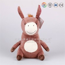 High quality hot selling customed plush donkey lovely baby doll toys doll