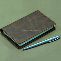 2015 custom leather creative covers for notebook