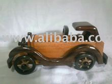 Wooden Classical Chinese toy car