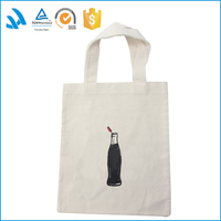 100% Nature cotton packing folding carrying cloth bag for shopping