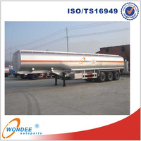 Factory price 45000 liters 45cbm LPG Tank Semi Trailer 3 Axle LPG Tanker