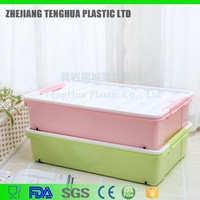News Arrivel daily use item storage bins plastic PP box for clothes