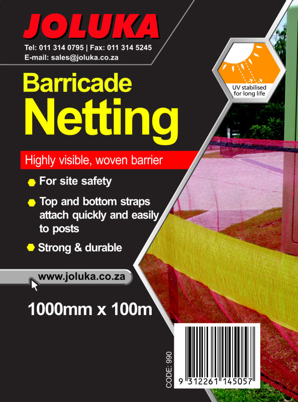 Barrier and Shade Netting