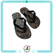 Customized latest fabric covered flip flops