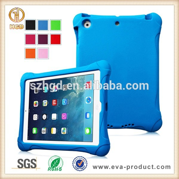 Durable eva foam kids shockproof case for ipad 5 bumper case for ipad air