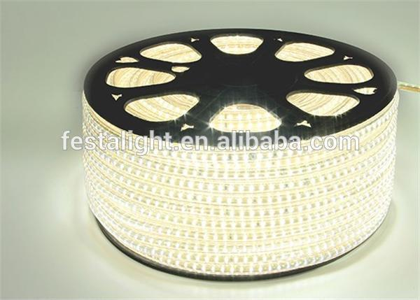 2016 led christmas light shenzhen LED light 20-22lm rgb LED strip 5630 220v smd 3014 led strip