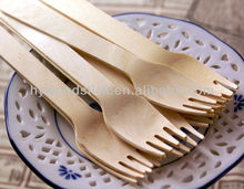 China Supplied Eco-friendly Wooden Party Adult Use Giant Fork
