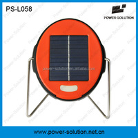 Portable indoor & outdoor camping led daylight mini solar lamp PS-L058