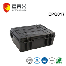 Hard Waterproof Plastic equipment Case with foam