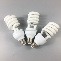 CFL lamp half spiral energy saving bulb