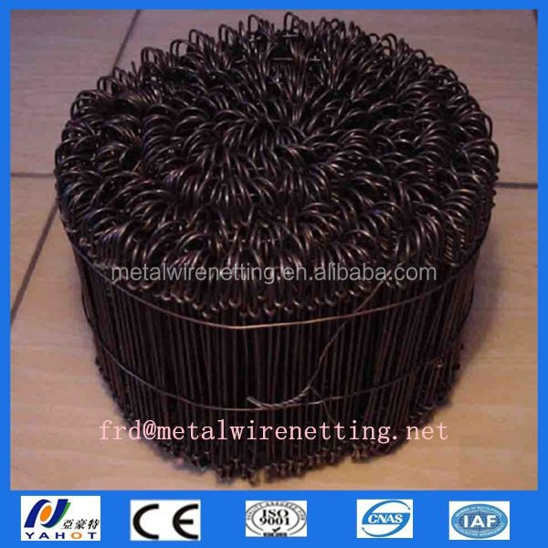Supply loop tie wire/Offer galvanized loop tie wire/ provide pvc coated loop tie wire