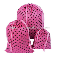 promotion 190t polyester drawstring bag