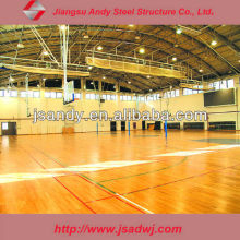 Andy light and cheap steel structure sports building
