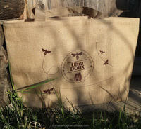 Special design new style pvc window jute bags