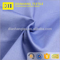 China factory CVC twill 60% cotton 40% polyester fabric offical wear shirts for men cotton shirt fabric