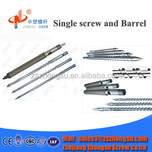 screw barrel for injection molding machine/injection screw/Haitian Engel Arburg injection screw
