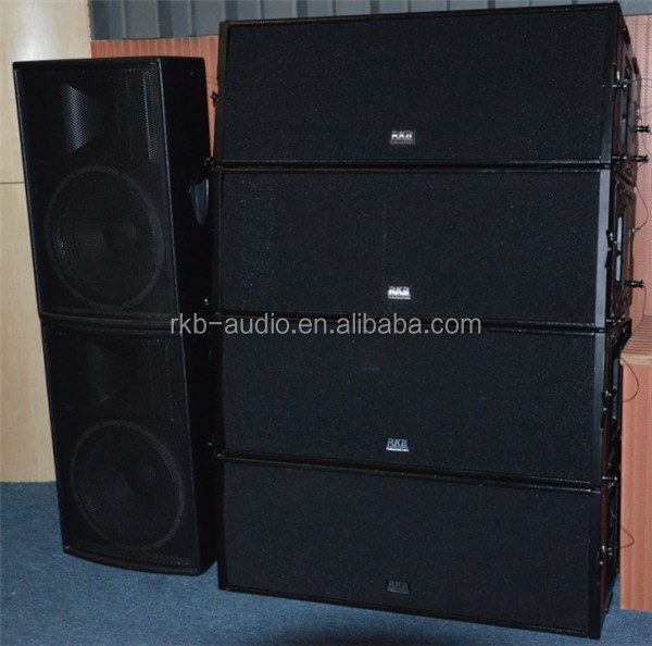 W8LC outdoor sound system professional, passive line array speaker