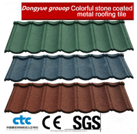 stone coated steel roofing shingle/zinc steel plate roof tile/corrugated steel roofing sheet