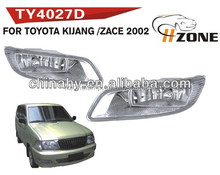 TOP QUALITY HZONE 12V FOG LAMP FOR TOYOTA KIJING/zace 2002 WITH WATERPROOF