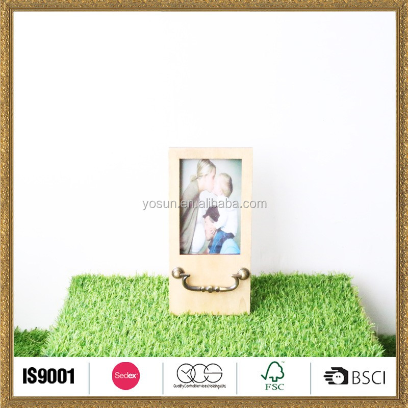 handmade wooden photo picture frame