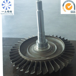casting marine propulsion turbine wheel disc