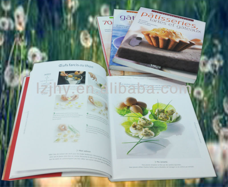 food menu card printing recipe book