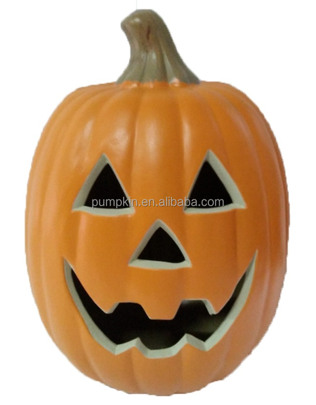 better the Halloween easy decor blow plastic pumpkin funny head with Jack O Lantern Blow Mold Happy Face