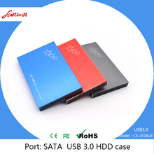 China Manufacturer Custom beautiful design hard disk case 2.5 inch usb 3.0 to sata high speed HDD Enclosure