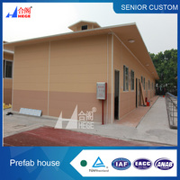 Modular steel buildings restaurant,prefab office building ,single layer prefabricated house
