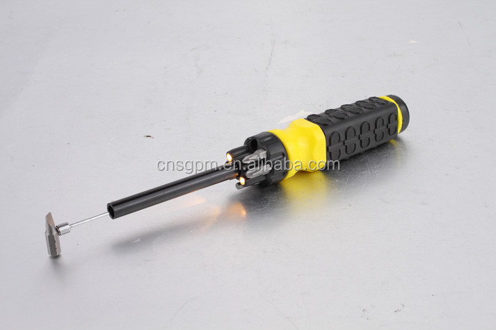 Handy Hand Tools Type 6 In 1 Multifunction Screwdriver With Led Light