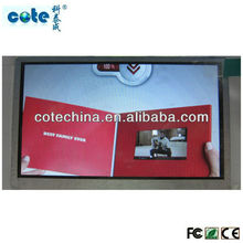 "2.4"",4.3"",5"",7"" LCD video card bulk customized for business advertisement promotion"