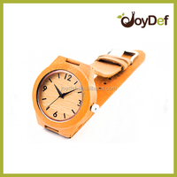 China alibaba multi style nanjing manufacturer bamboo wooden watch band with watch case