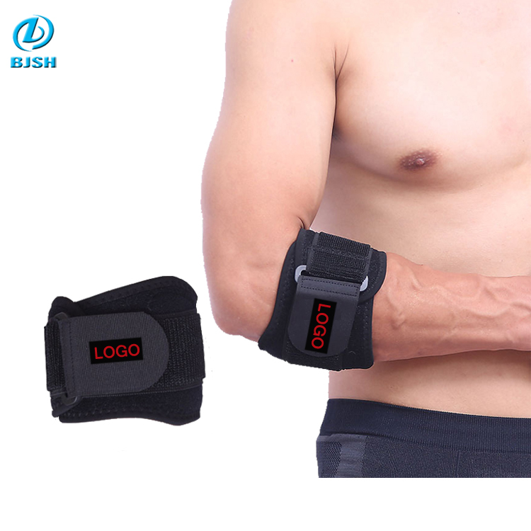 Sports Neoprene Elbow Pads black Breathable Tennis Elbow Brace pads protector