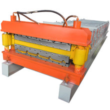 Double sheet roofing roll forming machine For Galvanized Steel China factory sales