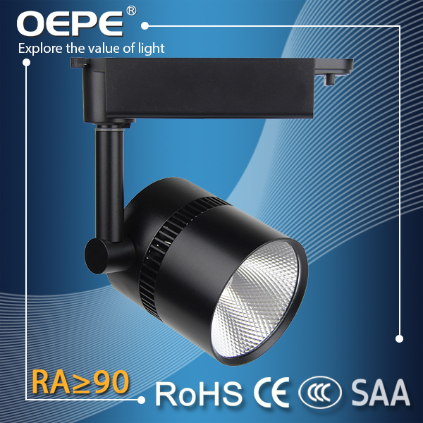 35w 2 3phase adaptor commercial lighting cob best quality led track light