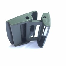 factory custom military convenient bulk plastic belt buckle belt buckle
