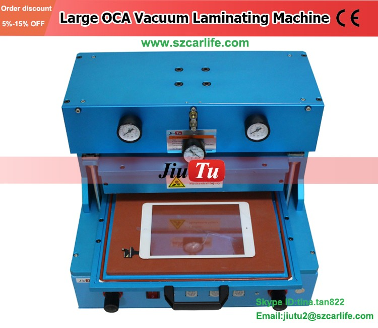 LCD Screen Refurbishing Devices OCA Vacuum Laminating Machine For iPone 6 6S 6 Plus 5S 5C LCD Repair 14 inch Cracked Smartphone