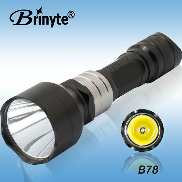 10W Powerful Aluminum Rechargeable <strong>CREE</strong> U3 LED Flashlight
