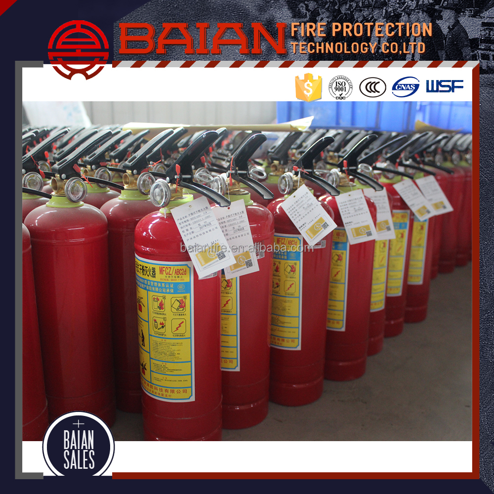 EN3 Approved ABC 1/2/4/5/8kg Dry Powder Fire Extinguisher